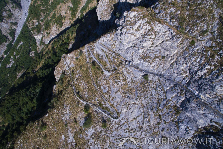 Sentiero degli Alpini sul Monte Pietravecchia