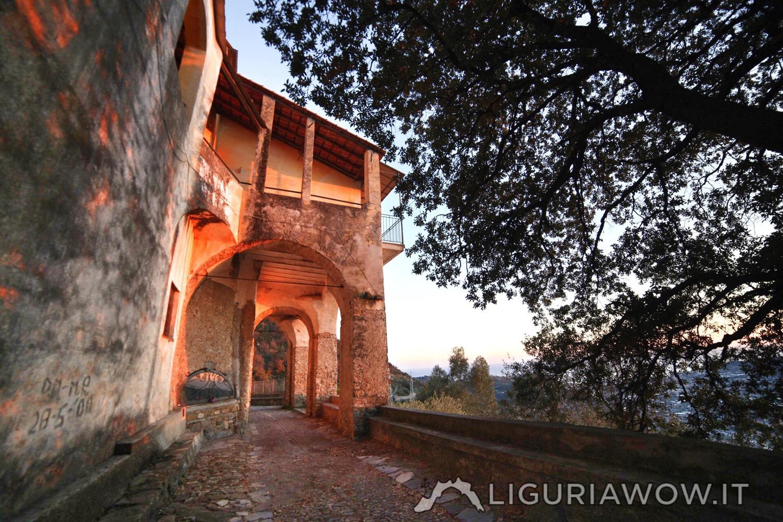Santuario di Nostra Signora di Lampedusa Castellaro Imperia Liguria Ponente Ligure