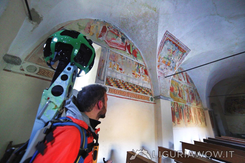 Federico e gli affreschi di Pietro Guido da Ranzo
