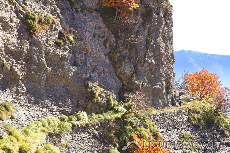Sentiero degli Alpini in autunno
