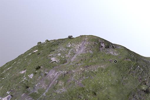 Modello 3D del Monte Follia