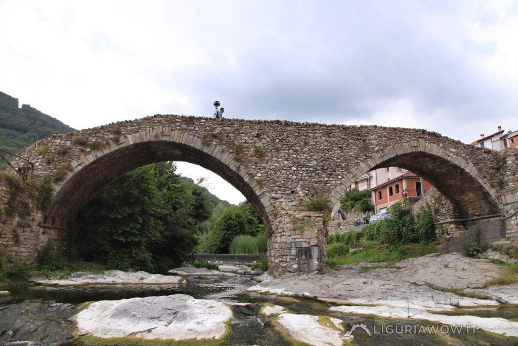 Luca Patelli sul ponte di San Lazzaro Reale