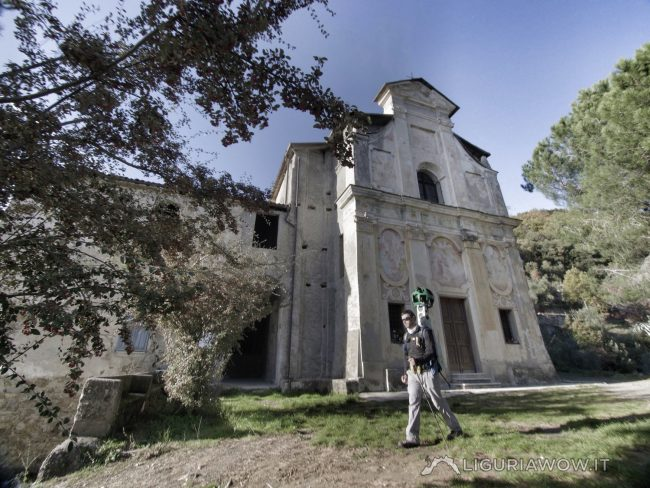 Luca Patelli al Santuario del Passoscio