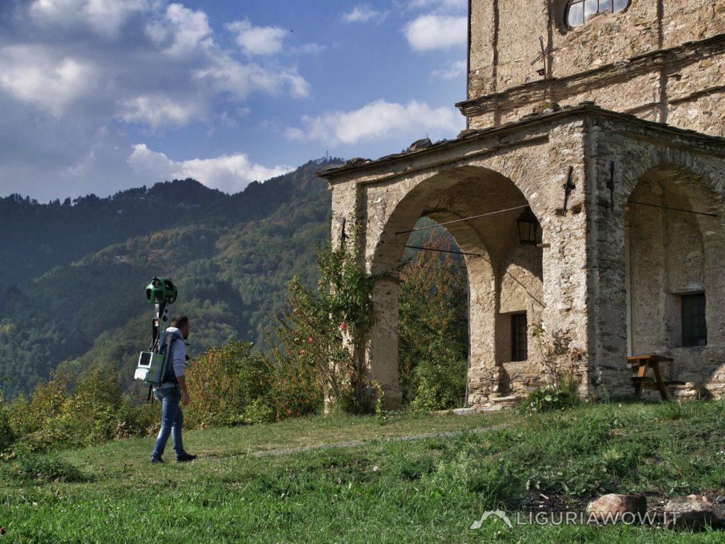 Claudio Cecchi al Santuario della Madonna dei Colombi