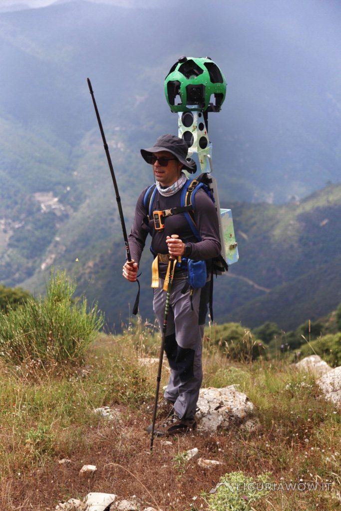 Nicola Ferrarese sul Monte Sette Fontane