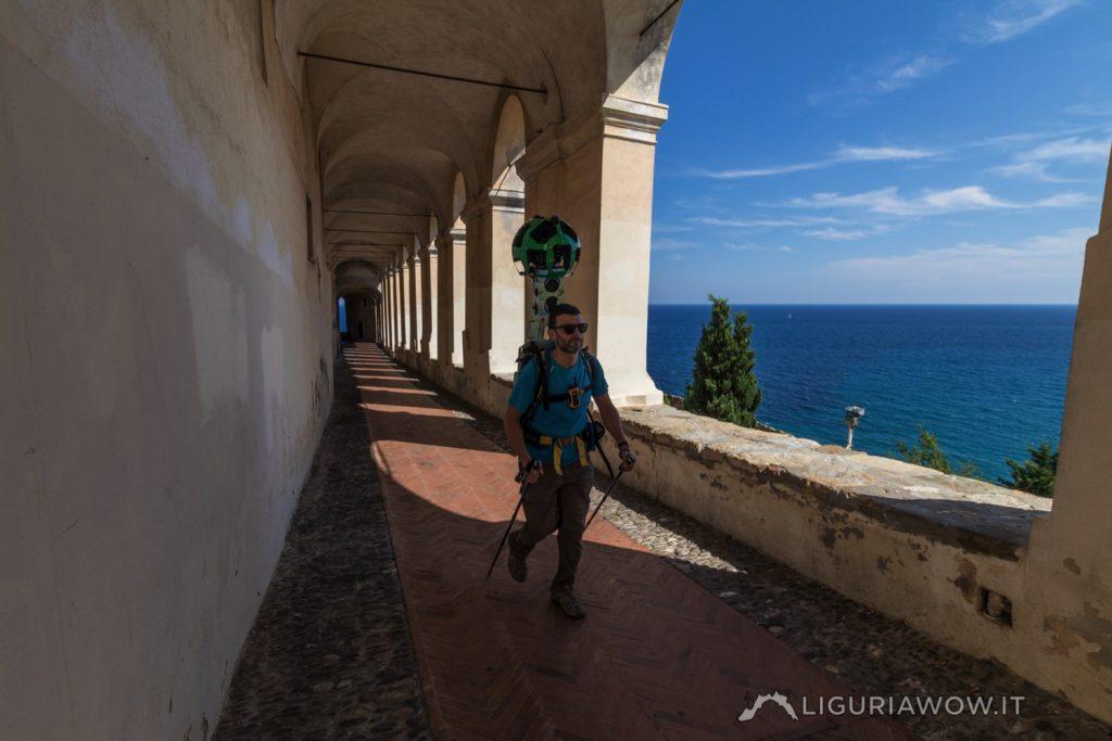 Luca Patelli alle logge di S. Chiara