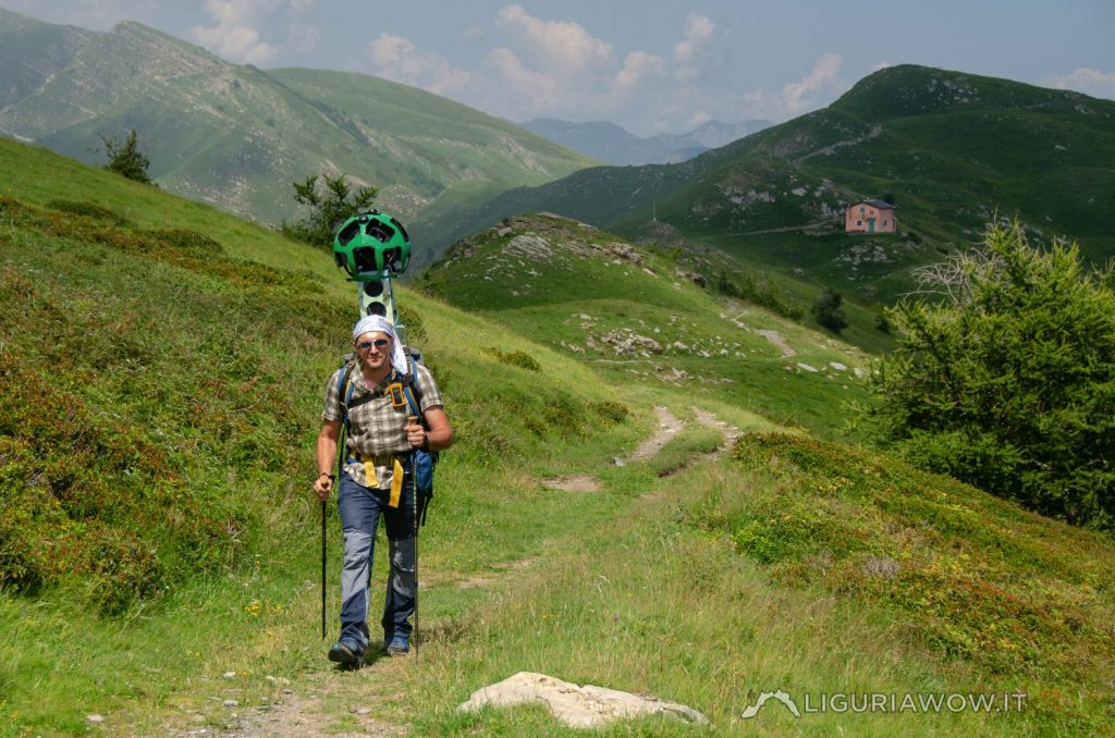 Corrado Agnese al monte Frontè