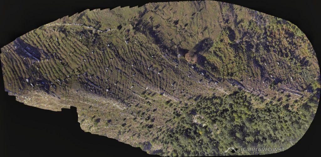 Ortofoto dei Piloni dell'Alpe di Baudo