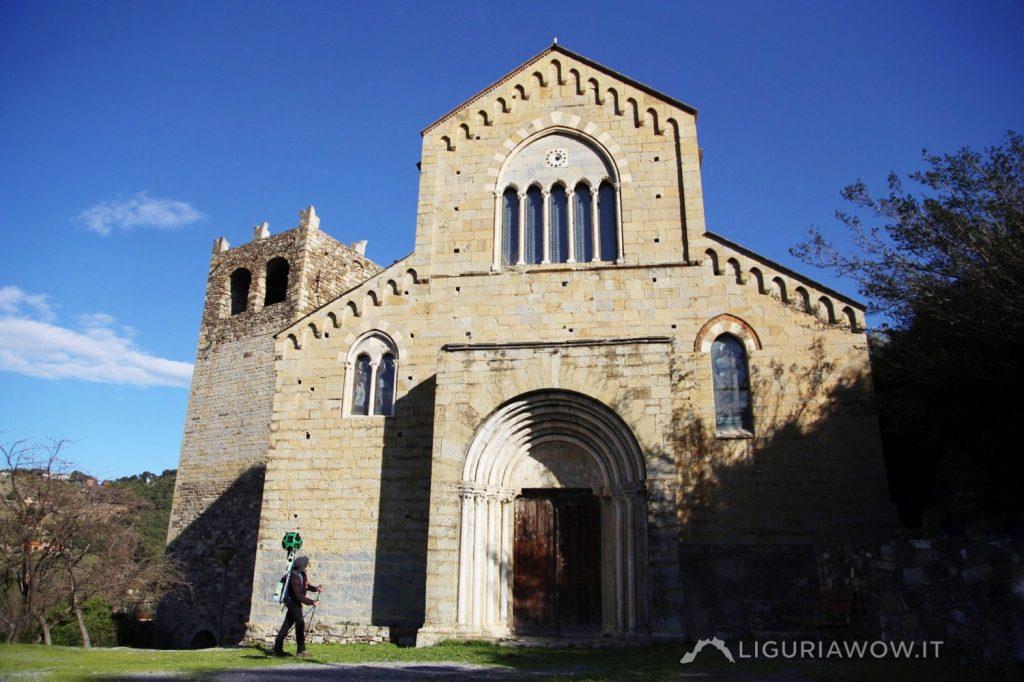Nicola Ferrarese al castello Clavesana di Andora