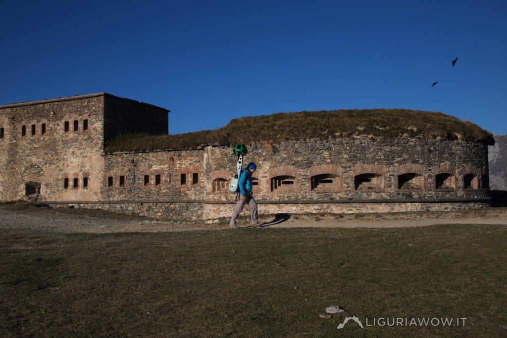 Doriana Agnelli al Forte Centrale