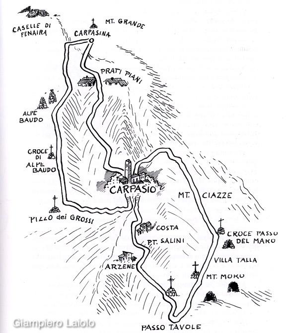 Alpe di Baudo Giro delle Croci a cura di Giampiero Laiolo